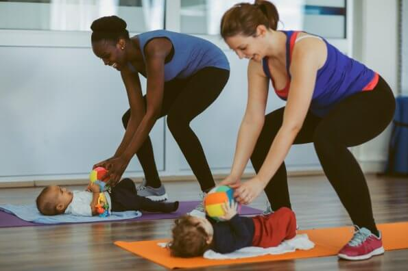 Fun (and practical) ways to get moving with a newborn