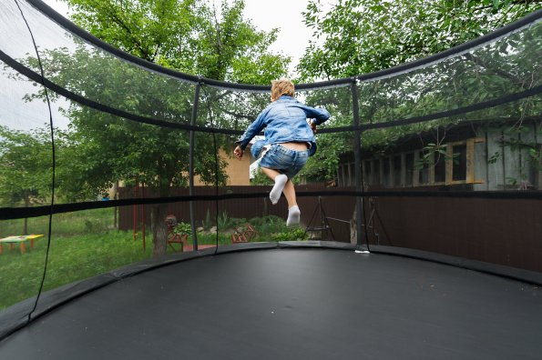 Five fun and active trampoline games