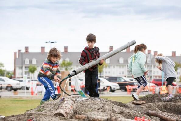 Why kids need to play with mud, tires, fire, and junk