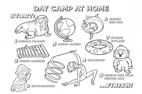 """Keep kids busy with Active for Life's summer """"day camp"""" — at home"""